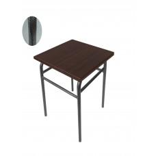 Кухонный табурет каркас графит+сидушка венге