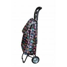 Сумка - тележка на металлических колесах универсальная бабочка