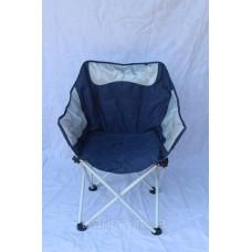 Кресло Ракушка d19 мм Серо-синий