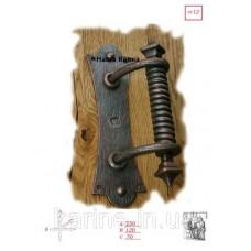 Кованая ручка на дверь