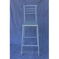 Барный стул Marco белый каркас с белым сиденьем