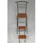Раскладной барный стул стремянка