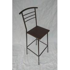 Барный стул Марко квадратная сидушка венге