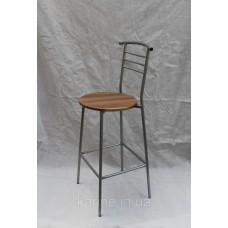 Барный стул Марко металлический каркас круглая сидушка