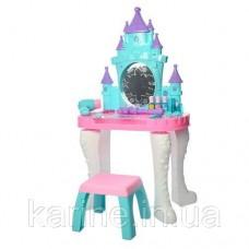 Трюмо детское игровое 661-127 со стульчиком музыкальные и световые эффекты Snow Castle