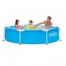 Каркасный бассейн Intex 28205 Metal Frame 244 x 51 см