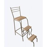 Барный стул стремянка со ступеньками