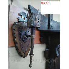 Фонарь - факел кованый ручной работы