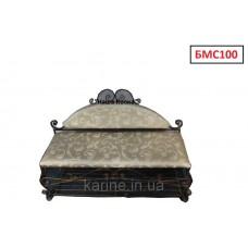 Кованый диванчик длина 1 м - БМС100