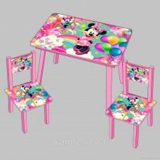 Набор столик и два стульчика